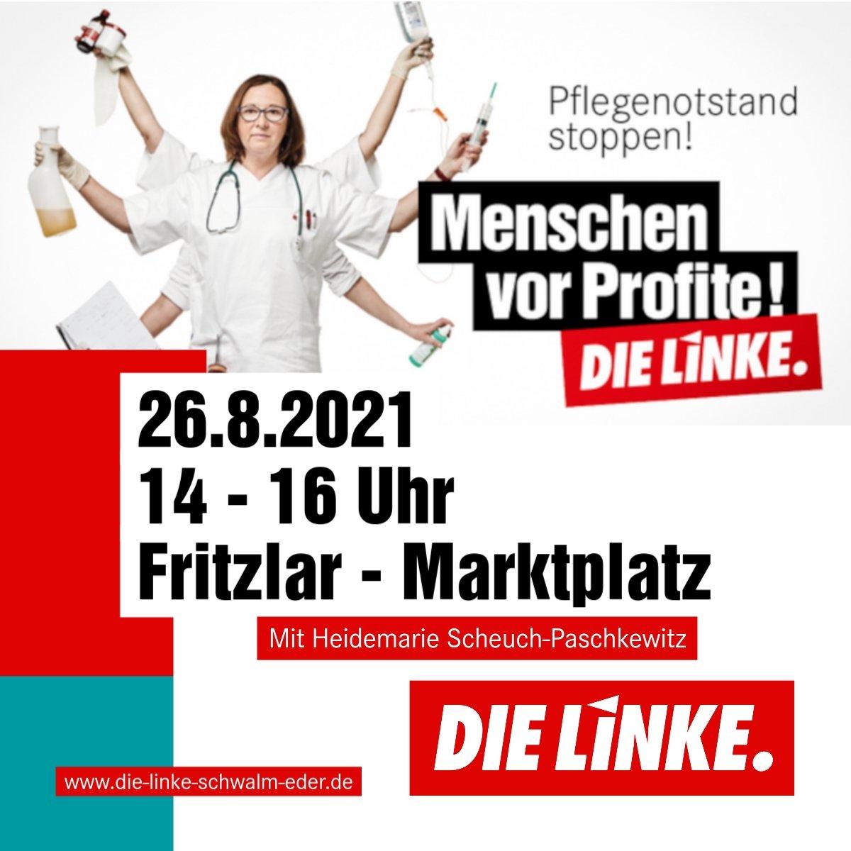 Pflegeaktion Fritzlar