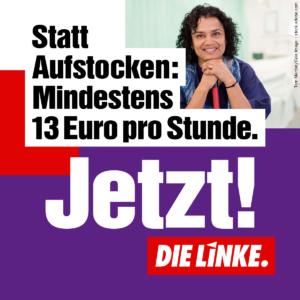 13-Euro-Mindestlohn